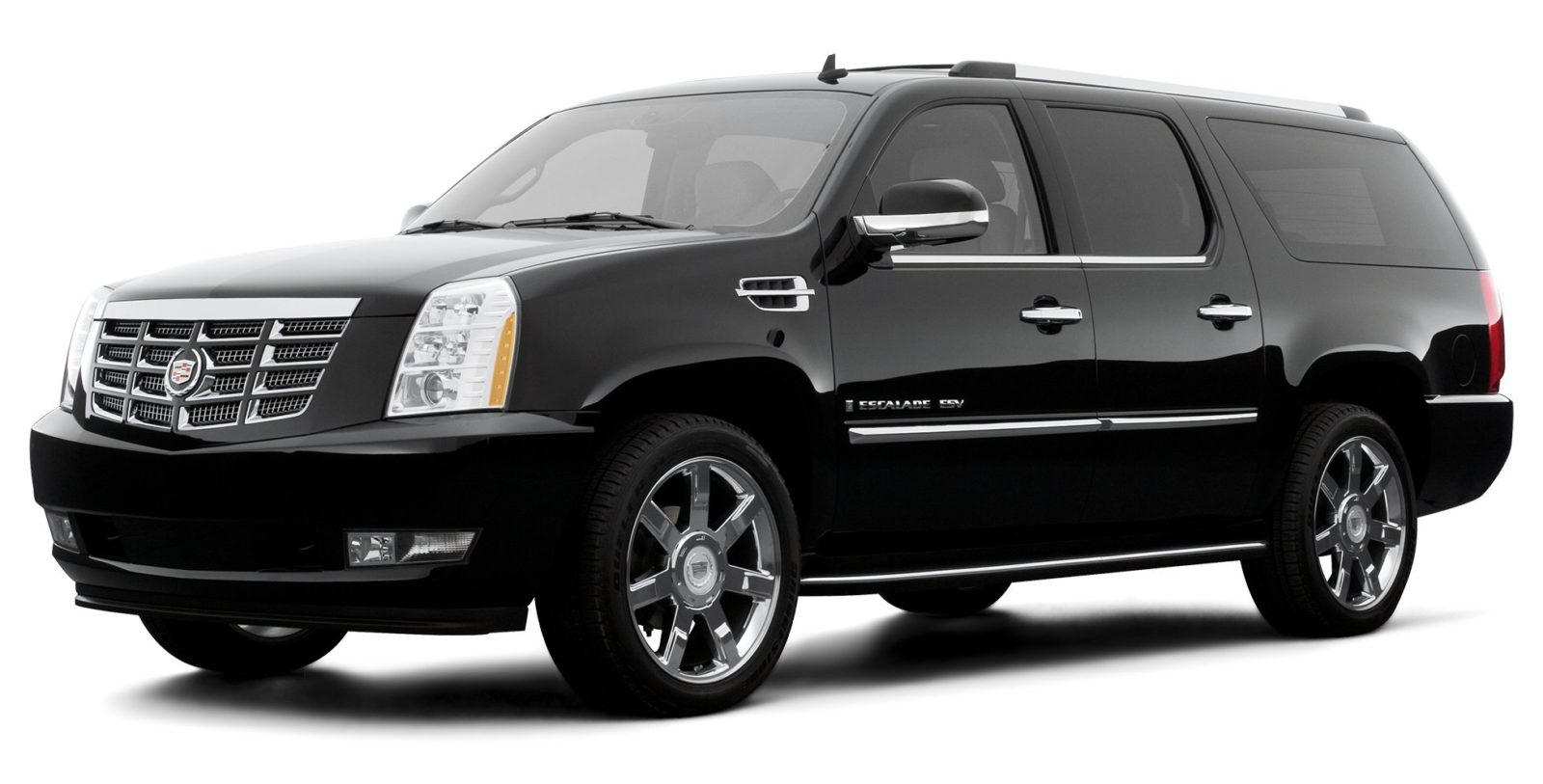 Get chauffeured in a Cadillac Escalade ESV